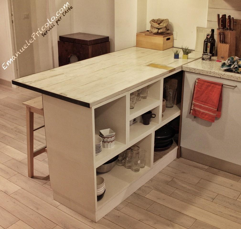 Mobili artigianali per cucine emanuele pricolo for Mobili design italia