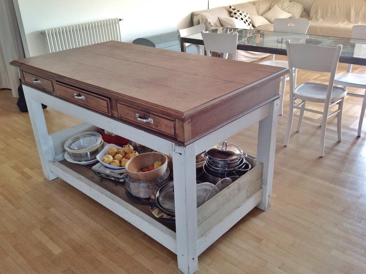 Mobili artigianali per cucine emanuele pricolo - Mobili con legno di recupero ...