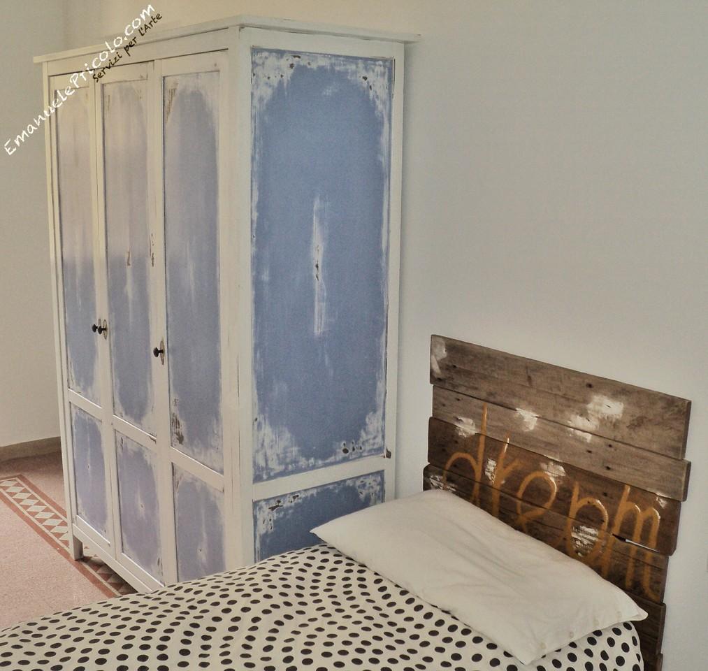mobili legno recuperato: madia con 3 ante in legno di recupero ... - Mobili Recuperati Design