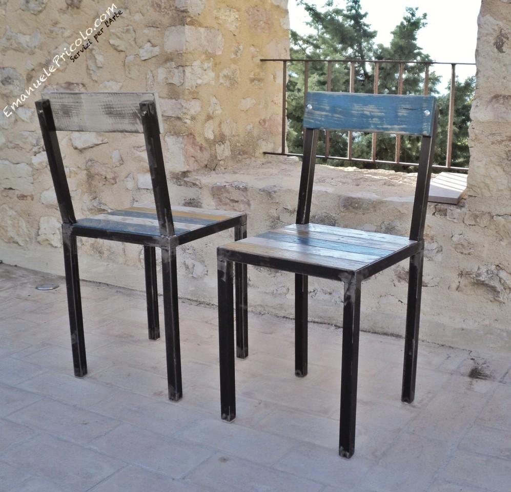 Realizzazione artigianale di sedie e sgabelli emanuele for Arredamento sedie