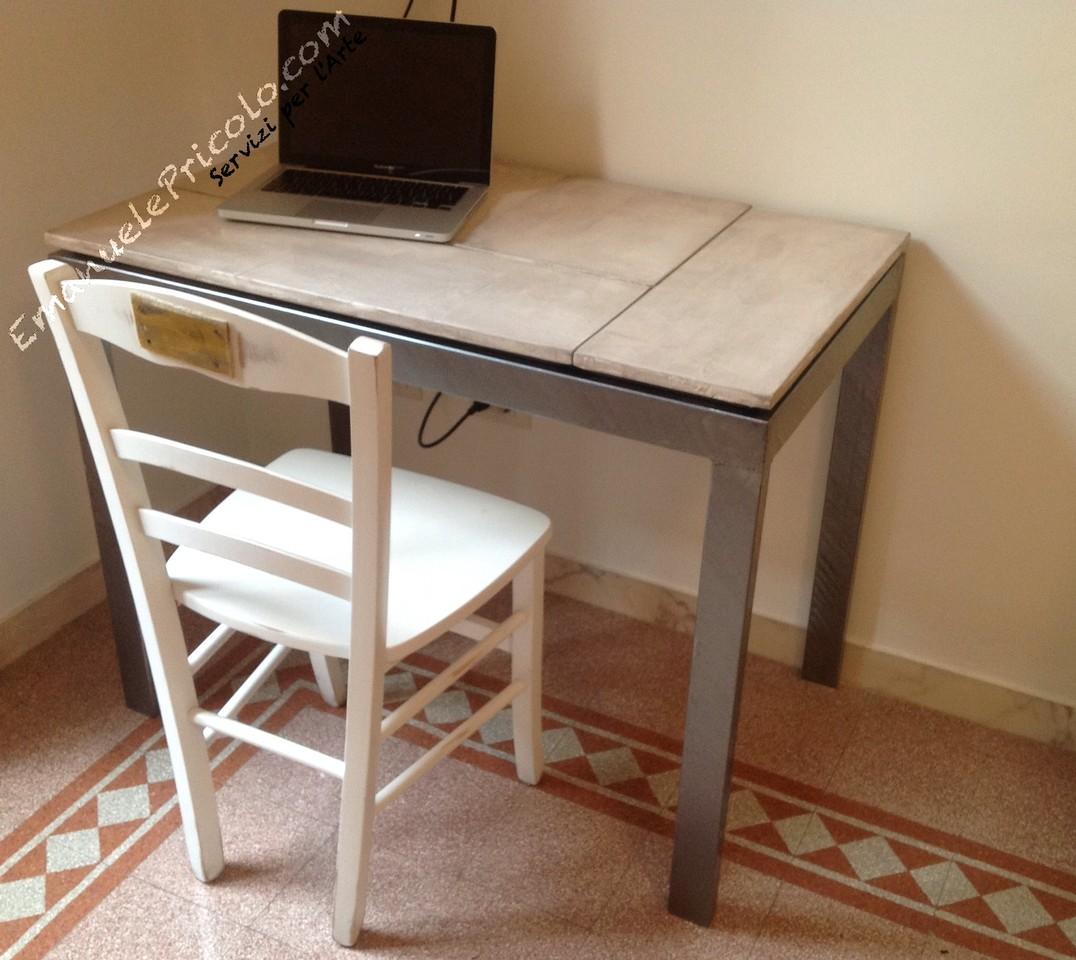 Realizzazione artigianale di tavoli emanuele pricolo for Arredamento tavoli